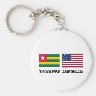 Togolese American Key Chain