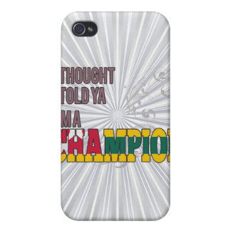 Togolese and a Champion iPhone 4/4S Case