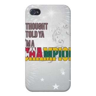 Togolese and a Champion iPhone 4 Case