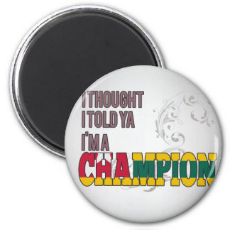 Togolese and a Champion Fridge Magnet