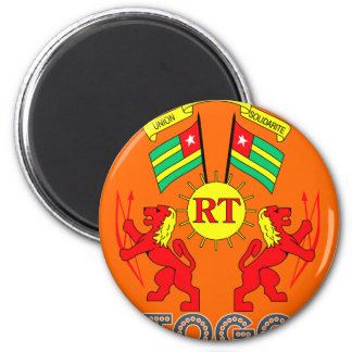 Togolese Emblem Fridge Magnets