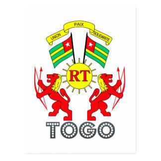 Togolese Emblem Postcard