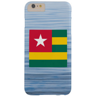 Togolese Flag Floating on water Barely There iPhone 6 Plus Case
