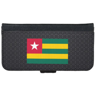 Togolese flag iPhone 6 wallet case