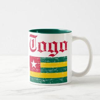 Togolese flag mug