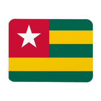 Togolese Flag Vinyl Magnet