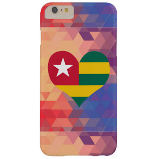 Togolese Flag Star On A Bokeh Barely There iPhone 6 Plus Case