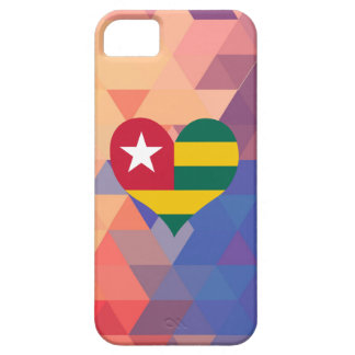 Togolese Flag Star On A Bokeh iPhone 5 Covers