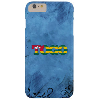 Togolese name and flag on cool wall barely there iPhone 6 plus case
