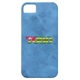 Togolese name and flag on cool wall iPhone 5 cover