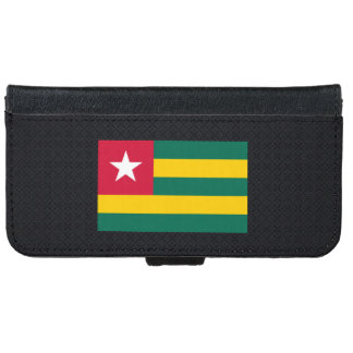 Togolese National flag of Togo-01.png iPhone 6 Wallet Case