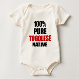 TOGOLESE NATIVE BABY BODYSUIT