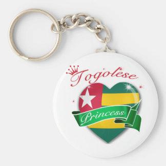 Togolese Princess Designs Key Chain