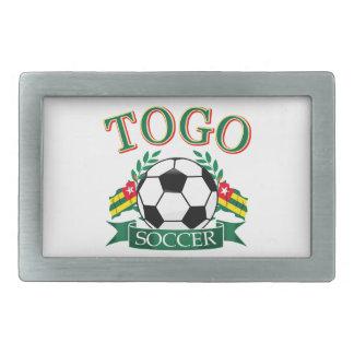 Togolese Soccer Designs Belt Buckle