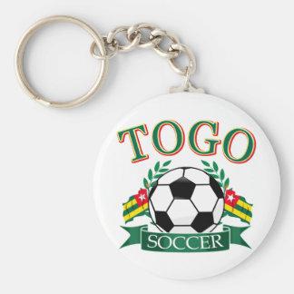 Togolese Soccer Designs Keychains