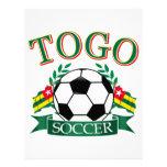 Togolese Soccer Designs Letterhead Design