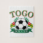 Togolese Soccer Designs Puzzle