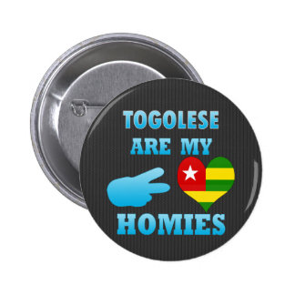 Togoleses are my Homies Button