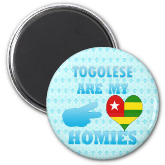 Togoleses are my Homies Refrigerator Magnet