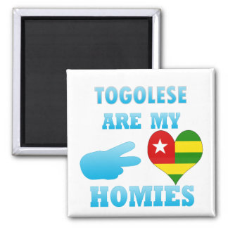 Togoleses are my Homies Refrigerator Magnets