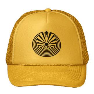Tohono O odham HOPI Pima Man in the MAZE HAT