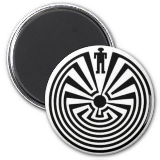 Tohono O odham Man in the Maze Collector Magnet