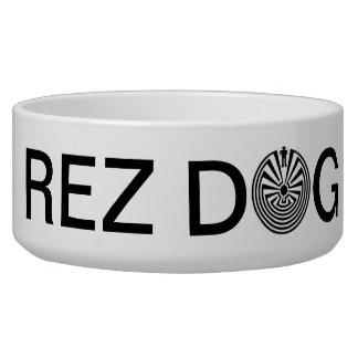Tohono O odham Man in the Maze REZ DOG Bowl