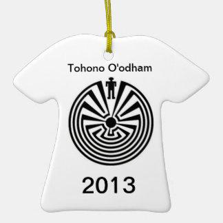 Tohono O odham PRIDE Man in the Maze ORNAMENT