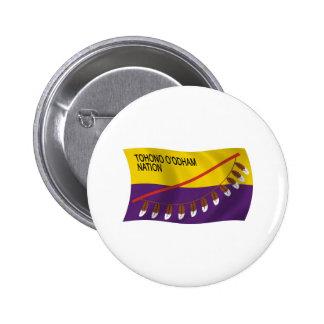 Tohono O'odham Nation Flag Button