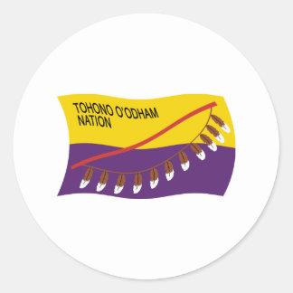 Tohono O'odham Nation Flag Sticker