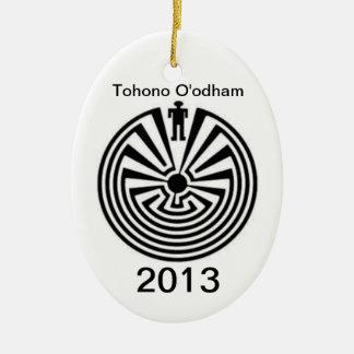 Tohono O'odham PRIDE Man in the Maze ORNAMENT