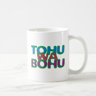 tohuwabohu hullabaloo coffee mug