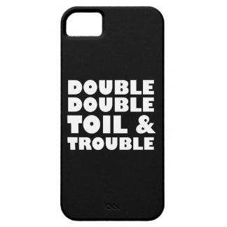 Toil Trouble iPhone 5 Covers