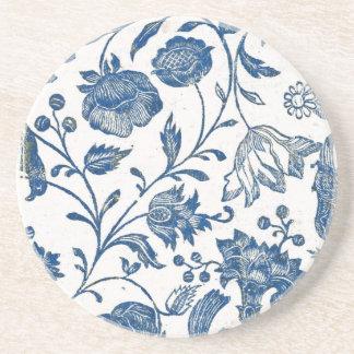 Toile Blue Coaster