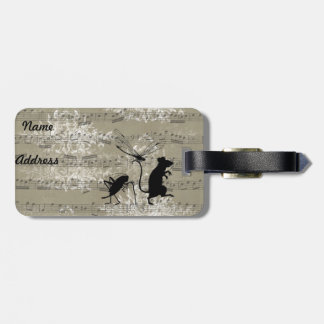Toile Critters Bag Tag