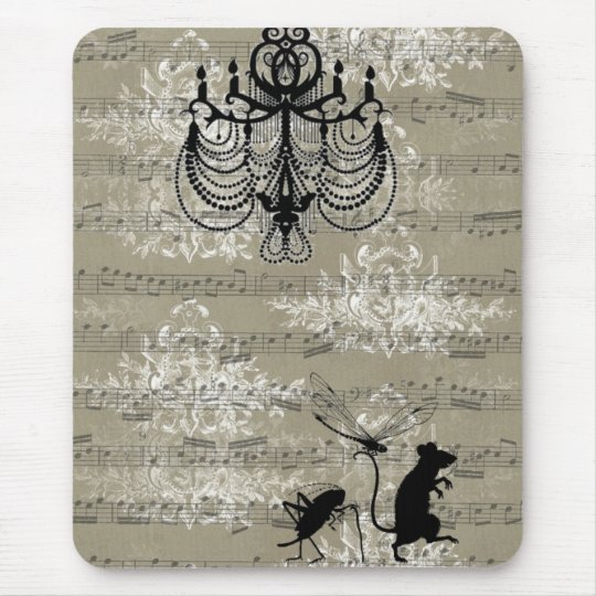Toile Critters Mouse Pad
