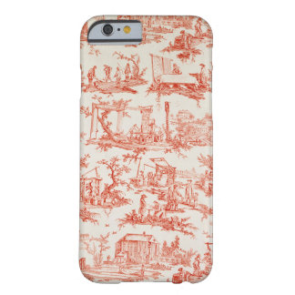 Toile de Jouy, illustrating the processes of manuf Barely There iPhone 6 Case