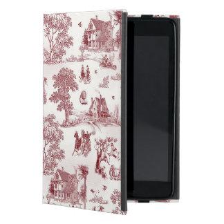 Toile De Jouy - tarde del vintage iPad Mini Funda