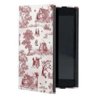 Toile De Jouy - Vintage Afternoon Cases For iPad Mini