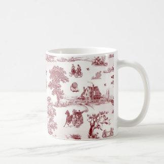 Toile De Jouy - Vintage Afternoon Coffee Mug