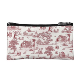 Toile De Jouy - Vintage Afternoon Cosmetic Bag