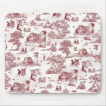 Toile De Jouy - Vintage Afternoon Mouse Pad