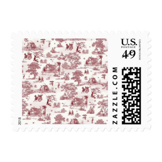 Toile De Jouy - Vintage Afternoon Postage