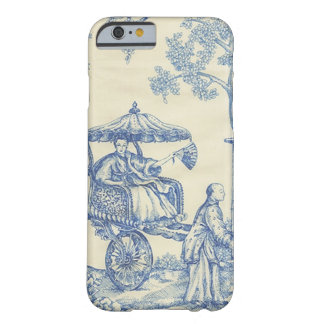 Toile in Blue & White iPhone 6 Case