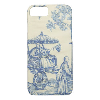 Toile in Blue & White iPhone 8/7 Case