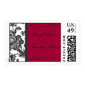 Toile Love Stamp