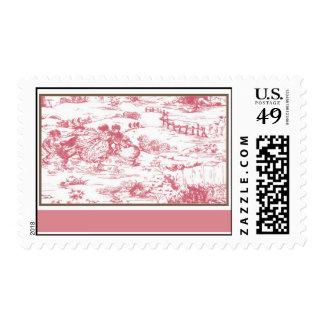 Toile postage stamp