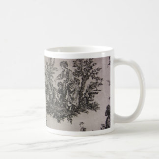 Toile River Scene Coffee Mug