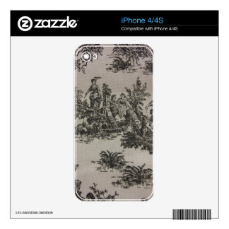 Toile River Scene Decals For The iPhone 4S
