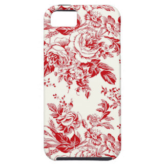 Toile Roses iPhone SE/5/5s Case